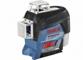 Laser čárový multifunkční GLL 3-80 CG Prof. se stativem