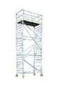Lešení - hliníkové (základ. díl 2m) Custer 1,3m x 2,6m x 2m