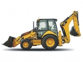 Rýpadlo - nakladač do 8,2t Caterpillar Cat 432E/E2