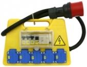Rozvaděč stavební 2x230, 2x400V, 16A Erocomm Z 73.220/FI/V-1