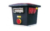 Rozvaděč stavební 5x230/400 V, 32 A Erocomm HM 504/FI/45P/V32/C