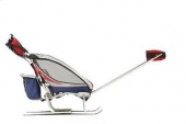 Set lyžařský k dětskému vozíku Dvě plus dvě