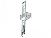 Stavební výtah kolmý nákladní GEDA Comfort 200