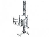 Stavební výtah kolmý osobo nákladní GEDA 500 Z/ZP