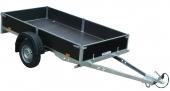 Vozík přívěsný 1,28x2,53 m (750 kg) s plachtou VAPP PV 0.7
