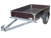 Vozík přívěsný 1,28x2,1 m (610 kg) bez plachty VAPP PV 0.7
