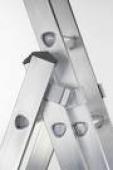 Žebřík hliníkový   4,38 m (3-dílný)   Zarges 49787