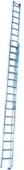 Žebřík hliníkový 9,90 m (2-dílný s taž. lanem) Zarges 42361