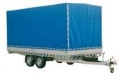 Vozík přívěsný 3,60x1,92 m (1475kg) s plachtou VAPP PVV